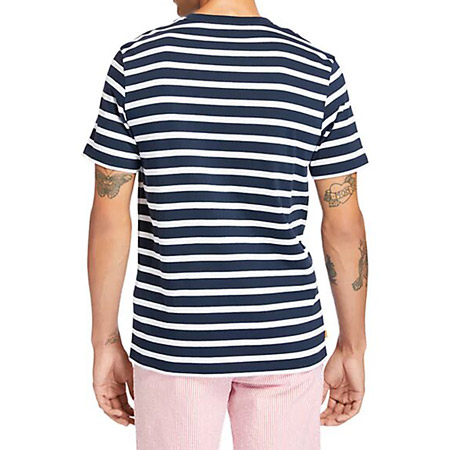Timberland YD Stripe Tee - Blau - Sohle