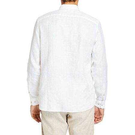 Timberland LS Linen Shirt - Weiß - Sohle