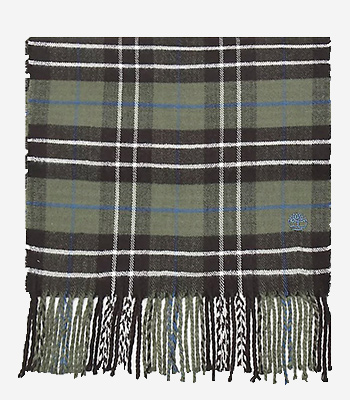 Timberland Kleidung Herren Plaid Scarf W/ Embroidery