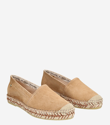 Fred de la Bretoniere Damenschuhe LIGHT BROWN