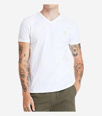 Timberland Kleidung Herren SS Dun-Riv V Neck T