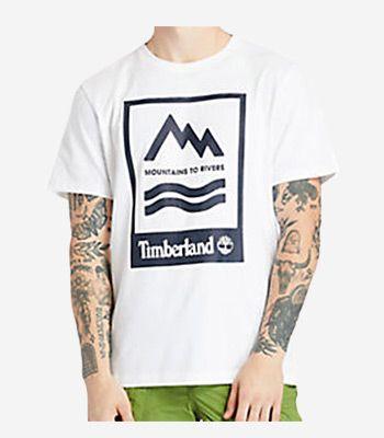 Timberland Kleidung Herren A2FNH100 Prnt Badge Tee