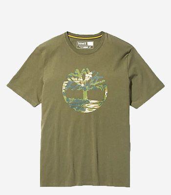 Timberland Kleidung Herren SS FT Tree Tee