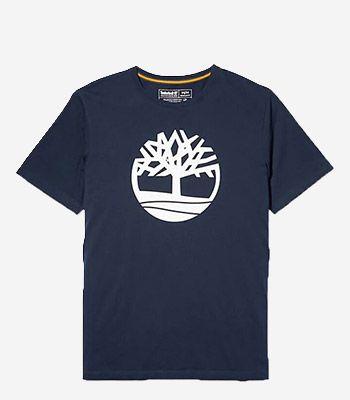 Timberland Kleidung Herren SS K-R Brand Tree T