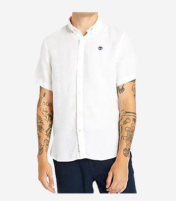 Timberland Kleidung Herren SS Linen Shirt