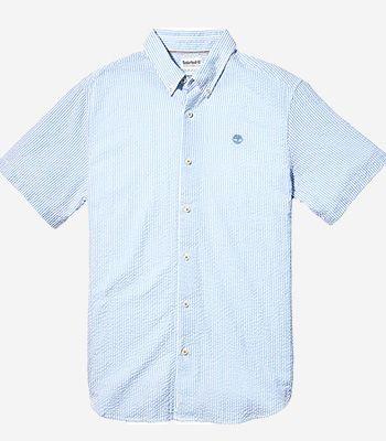 Timberland Kleidung Herren A2FYYG33 SS Sersucker Shirt