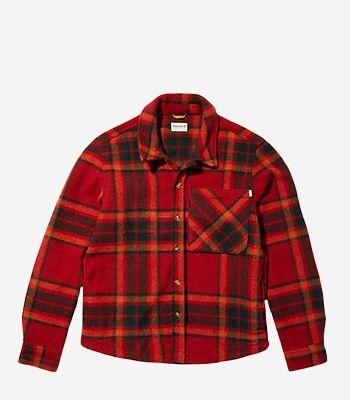 Timberland Kleidung Herren A22Y9 Fleece Plaid Shirt