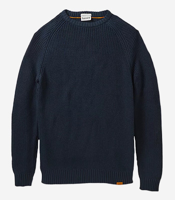 Timberland Kleidung Herren A2CRX Cotton Wool Crew