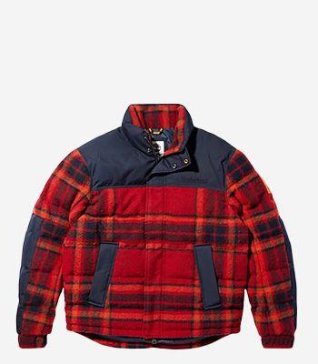 Timberland Kleidung Herren A22TJ Puffer Jacket