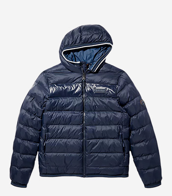 Timberland Kleidung Herren A2GA1 Mid Weight Hooded Jacket