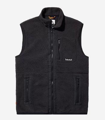 Timberland Kleidung Herren A24DA Sherpa Fleece Vest