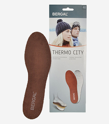 Bergal Accessoires Thermo City Einlegesohle