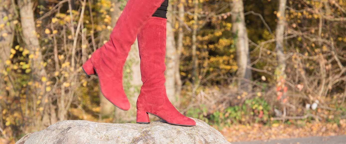 Herbsttrend 2018: Rote Schuhe sind das Must have!
