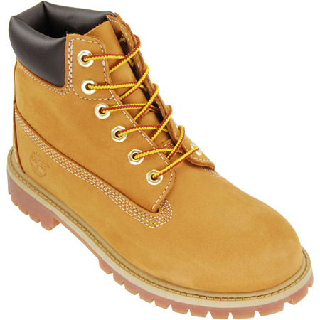 Timberland Kinderschuhe Timberland Kinderschuhe Boots #12709  #12709 12909 6 In. Prem. Wheat
