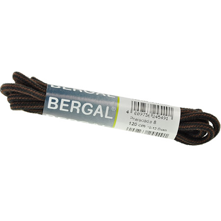 Bergal Accessoires Bergal Accessoires Schnürsenkel Kordel schwarz braun Kordel 8824 49 schwarz braun