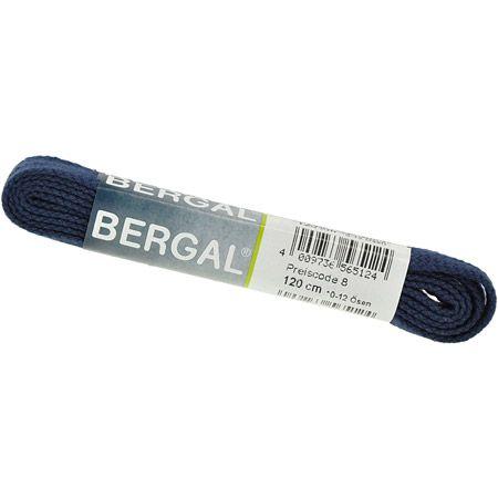 Bergal Accessoires Bergal Accessoires Schnürsenkel Flach  dunkelblau Flach 8856 662