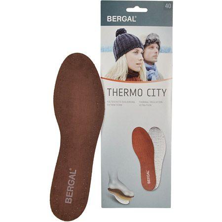 Bergal Thermo City Einlegesohle - Braun - Hauptansicht