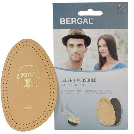 Bergal Leder Halbsohle - Caramel - Hauptansicht