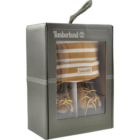 Timberland Kinderschuhe Timberland Kinderschuhe Boots #9589R #9589R Crib BT W/Hat