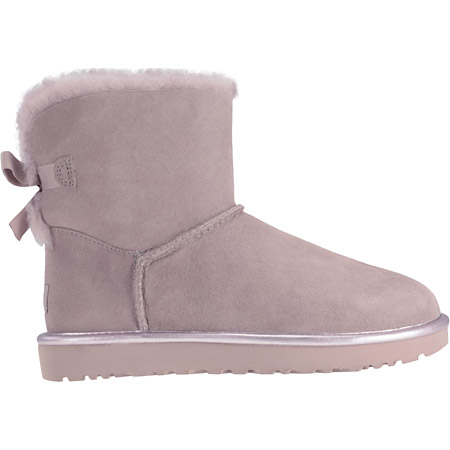 UGG australia Damenschuhe UGG australia Damenschuhe Warmfutter MINI BAILEY BOW II METALLIC 1019032 MINI BAILEY BOW II MET