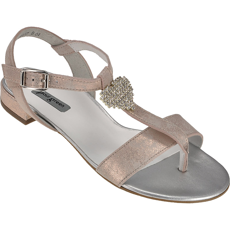 paul green 7023 029 damenschuhe sandaletten im schuhe l ke online shop kaufen. Black Bedroom Furniture Sets. Home Design Ideas