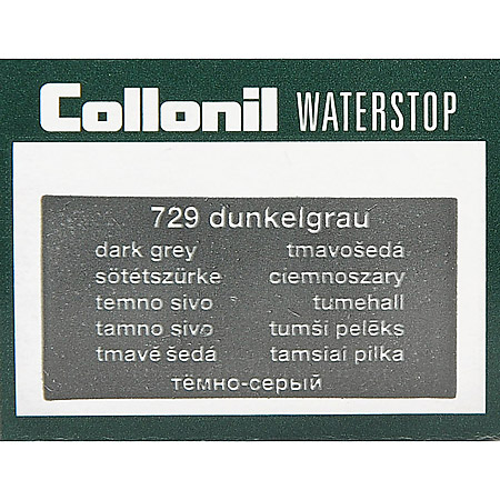 Collonil Waterstop Dunkelgrau - Dunkelgrau - Seitenansicht