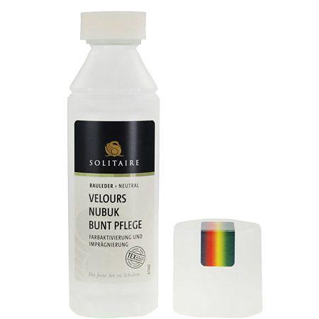Solitaire Velours Nubuk Buntpflege - Multicolor - Seitenansicht