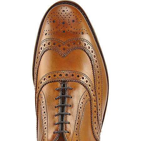 Allen Edmonds Mc Allister - Walnut - Draufsicht