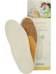 Bergal Accessoires Bamboo Fussbett